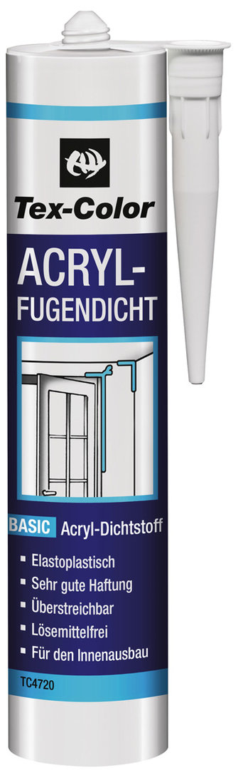 Tex-Color Acryl-Fugendichter weiß   300 ml