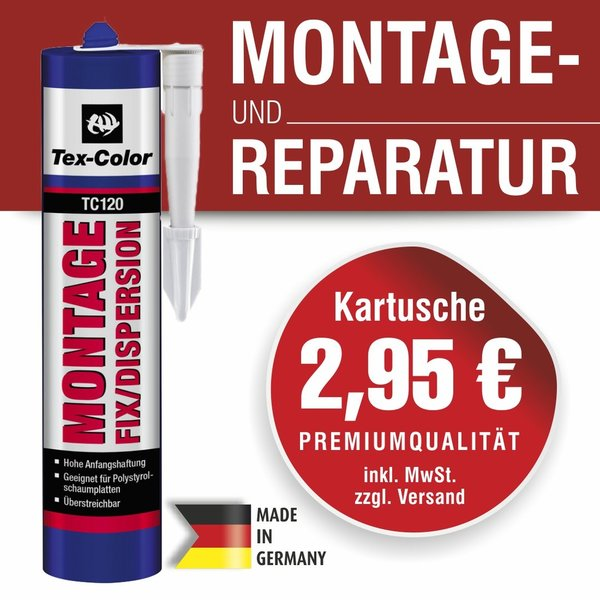 Tex-Color Montagekleber Fix/Dispersion 400 ml