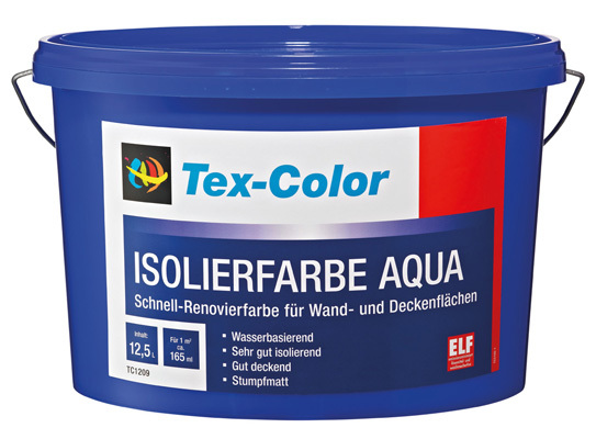 Tex-Color Isolierfarbe Aqua weiß