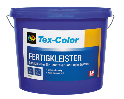 Tex-Color Fertigkleister - Palettenabnahme